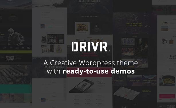 Driver - Creative Multi-Purpose WordPress Theme