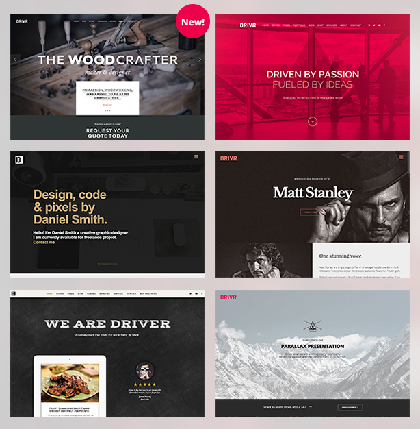 Driver - Responsive Multi-Purpose WordPress Theme