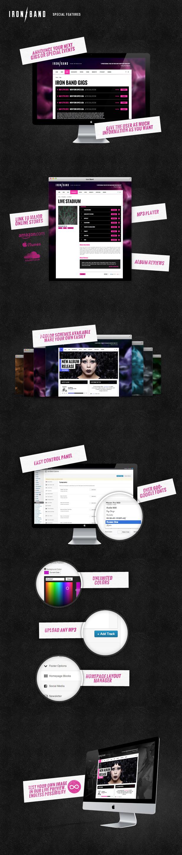 IronBand - Music Band & DJ WordPress theme premium